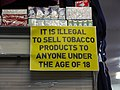 It is illegal to sell tobacco products to anyone under the age of 18.jpg