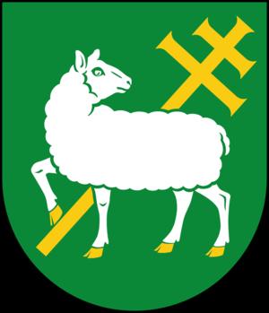 Järfälla Municipality - Image: Järfälla kommunvapen Riksarkivet Sverige
