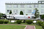 JASDF F-86D(14-8217) left front view at Komatsu Air Base September 17, 2018 01.jpg