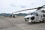 JMSDF SH-60K(8410, 8438) at Maizuru Air Station May 18, 2019 01.jpg