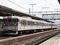 JR West 113 series set P-07 Ube Station 20171009.jpg