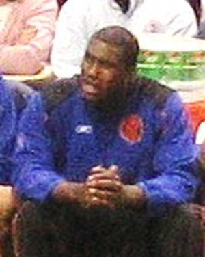 Jackie Butler - Butler in March 2006 with the New York Knicks.