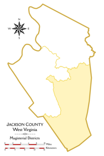 Eastern District, Jackson County, West Virginia Magisterial district in West Virginia, United States