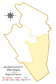 Jackson County Eastern District Highlighted.png