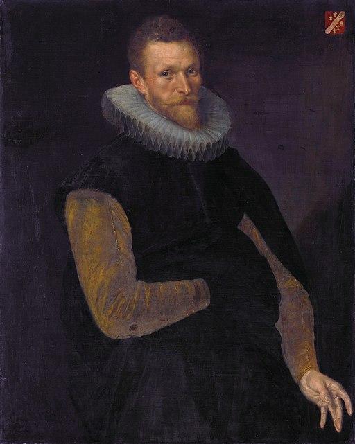 Jacob Cornelisz Banjaert, genaamd van Neck by Cornelis Ketel