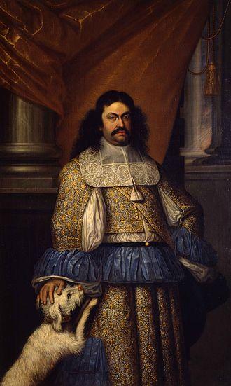 Ranuccio II Farnese, Duke of Parma - Portrait of Ranuccio II by Jacob Denys