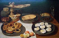 Jacob van Es: Fish Dinner