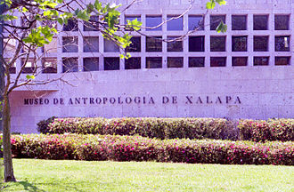 Museo de Antropología de Xalapa - The entrance to the museum