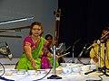 Jaltarang music concert by Vidushi Shashikala Dani at NCPA Bengaluru.jpg