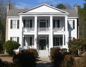 National Register of Historic Places listings in Lee County, South Carolina - Image: James Carnes house (Bishopville SC) 2
