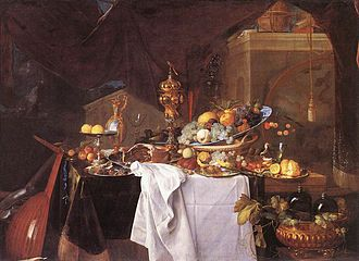 Jan Davidsz. de Heem - A Table of Desserts