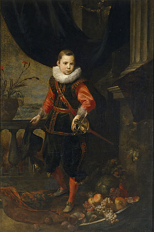 Jan Roos (painter) - Portrait of a boy