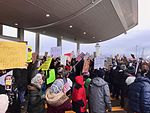 January 2017 DTW emergency protest against Muslim ban - 08.jpg