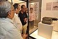 Jayanta Sengupta Visits With Shrikant Pathak And Nataraj Dasgupta - Objects In CRTL Archive Exhibition - NCSM - Kolkata 2018-05-18 0627.JPG