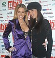 Jenna Jameson, McKenzie Lee at the XBiz Awards 3.jpg