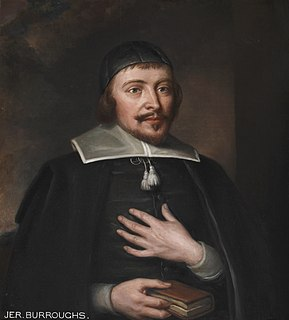Jeremiah Burroughs English minister