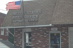The post office in Jerome