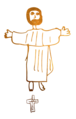 Jesus Savior of the World by Mathilde.png