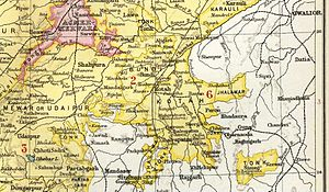 Bundi State - Bundi State in the Imperial Gazetteer of India