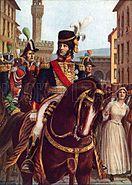 Joachim Murat entering Florence, 19 January 1801
