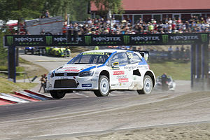 2014 World RX of Sweden - Johan Kristoffersson