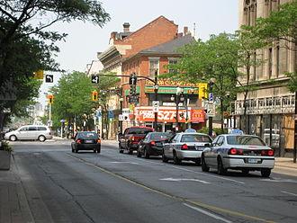 John Street (Hamilton, Ontario) - John Street South, walking tour