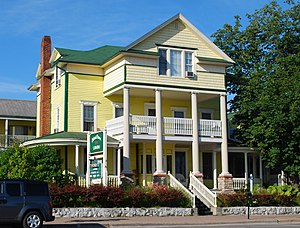 National Register of Historic Places listings in Mackinac County, Michigan - Image: John Chambers House St Ignace MI 2009
