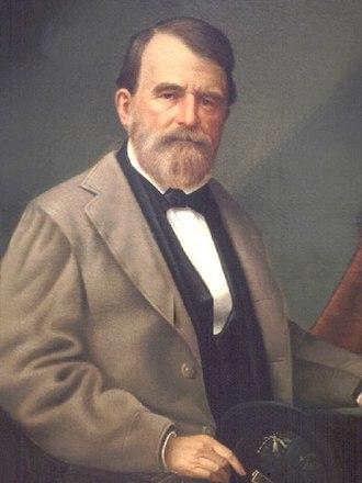 John McEnery (Louisiana) - John McEnery's portrait, 1880s