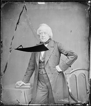 John Slidell - John Slidell, photograph by Mathew Brady