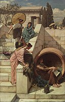 John Waterhouse - Diogenes - Google Art Project.jpg