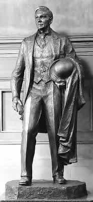 John Burke (Fairbanks) - The statue in the National Statuary Hall Collection