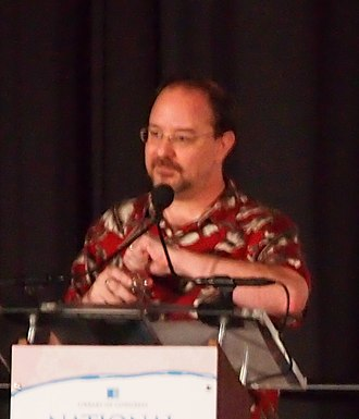 John Scalzi - Scalzi at the National Book Festival in 2017