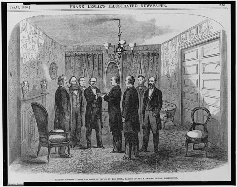 Johnson inauguration