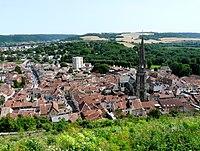 Joinville (52) - Vue depuis la côte du Château.JPG