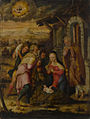 Joos van Cleve. The birth of Christ.jpg