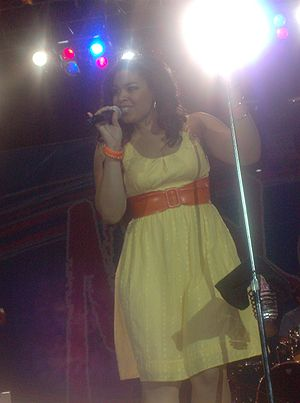 Jordin Sparks - Sparks during a concert in Kansas City