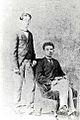 José Marti retrato junto a Fermín Valdés en Madrid 1872.jpg