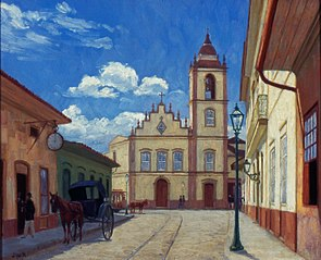 Antiga Rua do Rosário (Rua XV de Novembro)