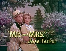 Rosemary Clooney & José Ferrer Jose Ferrer Mr. And Mrs.