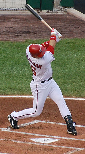 Josh Willingham - Willingham during his tenure with the Nationals in 2009.