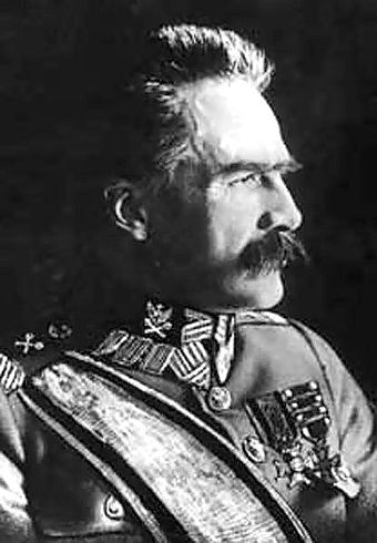 "In March 1920, Pilsudski was made ""First Marshal of Poland"". Jozef Pilsudski.jpg"