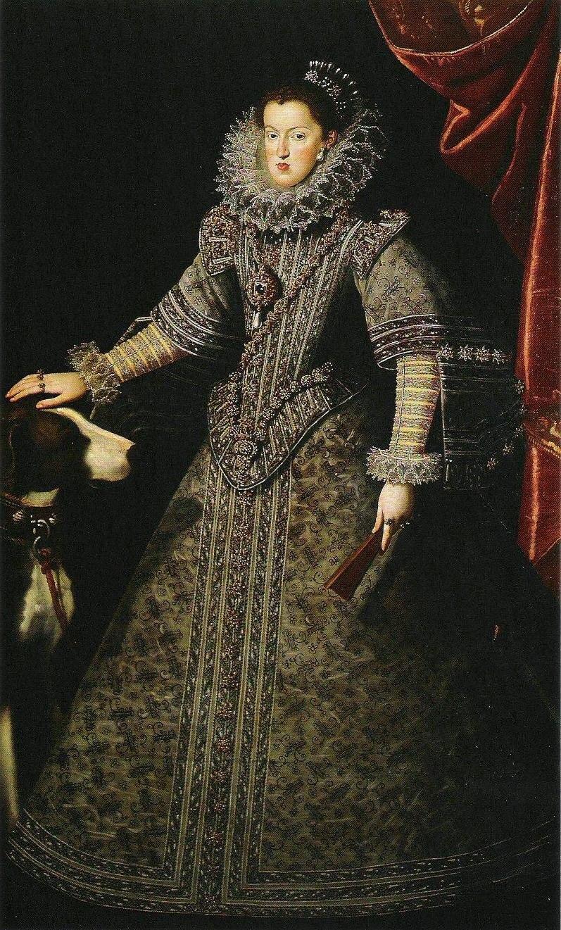 Juan van der Hamen y León - Königin Margaret von Österreich