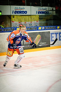 Juha Leimu Finnish ice hockey player