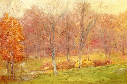 Julian Alden Weir Autumn Rain