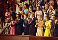 Julie Nixon Eisenhower, David Eisenhower, Jack Ford, Steve Ford, Susan Ford, First Lady Betty Ford, Alexander M. Haig, and Others Applauding in the Gallery of the House Chamber during President Gerald R. Ford's A(...) - NARA - 12082588.jpg
