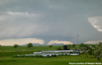 Tornado outbreak of June 16–18, 2014 - An EF3 tornado in Carter County, Montana on June 17