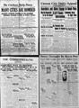 June 3 1919 Newspapers of the 1919 United States anarchist bombings.png