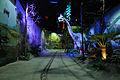 Jurassic Period - Dark Ride - Science Exploration Hall - Science City - Kolkata 2016-02-22 0334.JPG