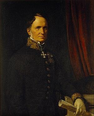 Just Mathias Thiele - Just Mathias Thiele, portrait by Wilhelm Marstrand. Thorvaldsens Museum