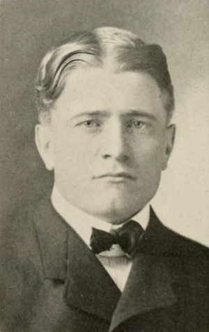 Justa Lindgren - Lindgren pictured in The Illio 1912, Illinois yearbook